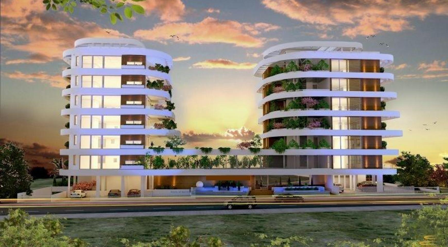 Новая 3-Спальная Квартира возле Моря - 3