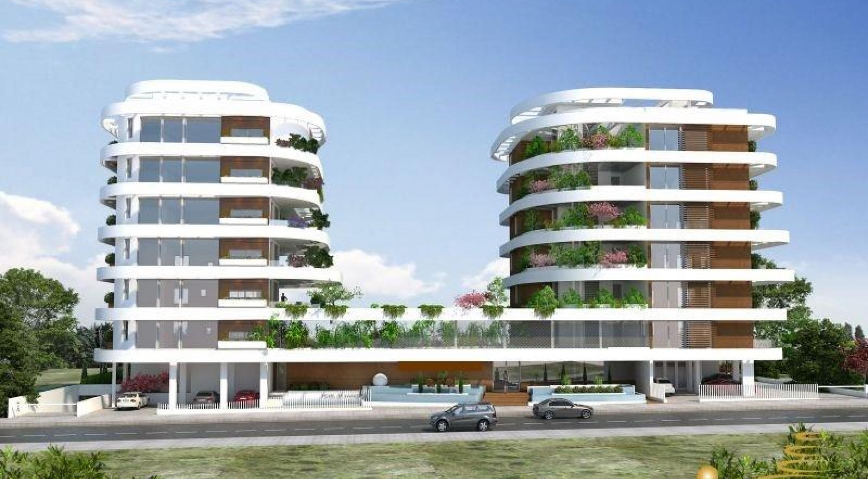 Новая 3-Спальная Квартира возле Моря - 1