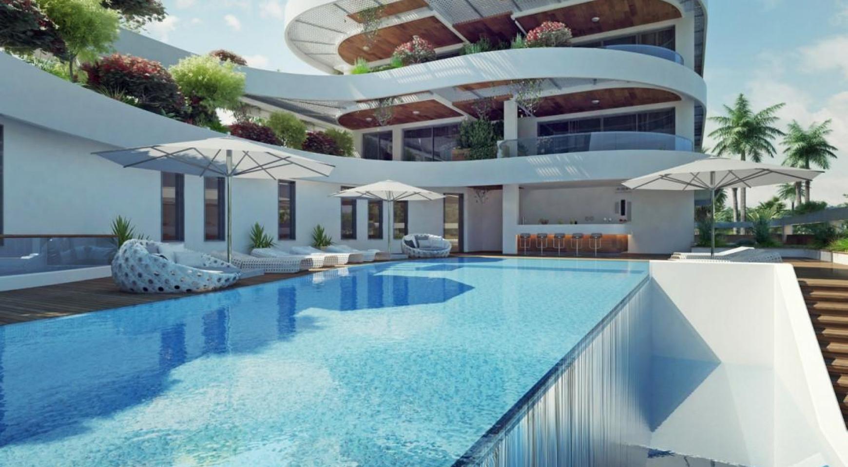Новая Односпальная Квартира возле Моря - 6
