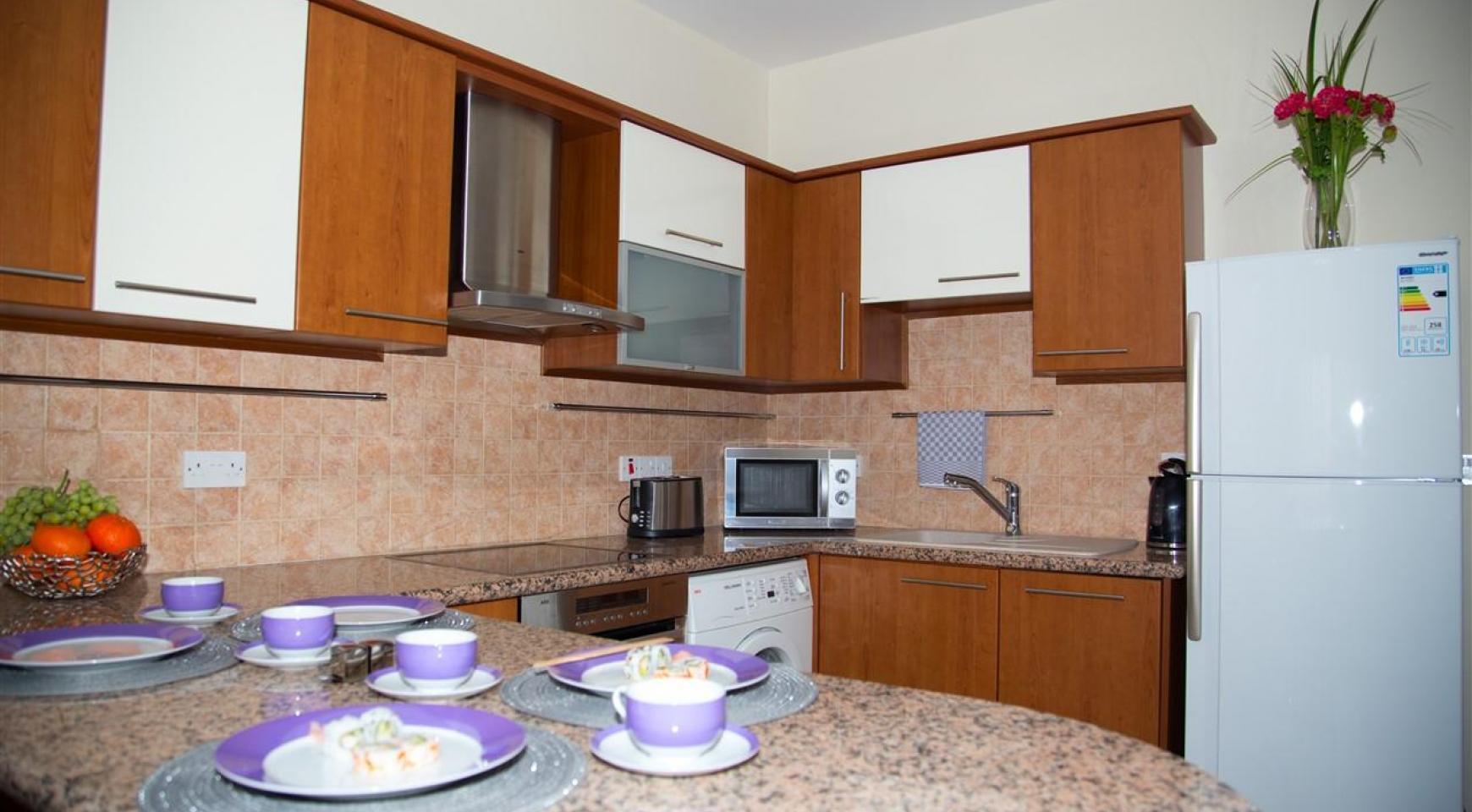 2-Спальная Квартира Mesogios Iris 304 в Комплексе у Моря - 13