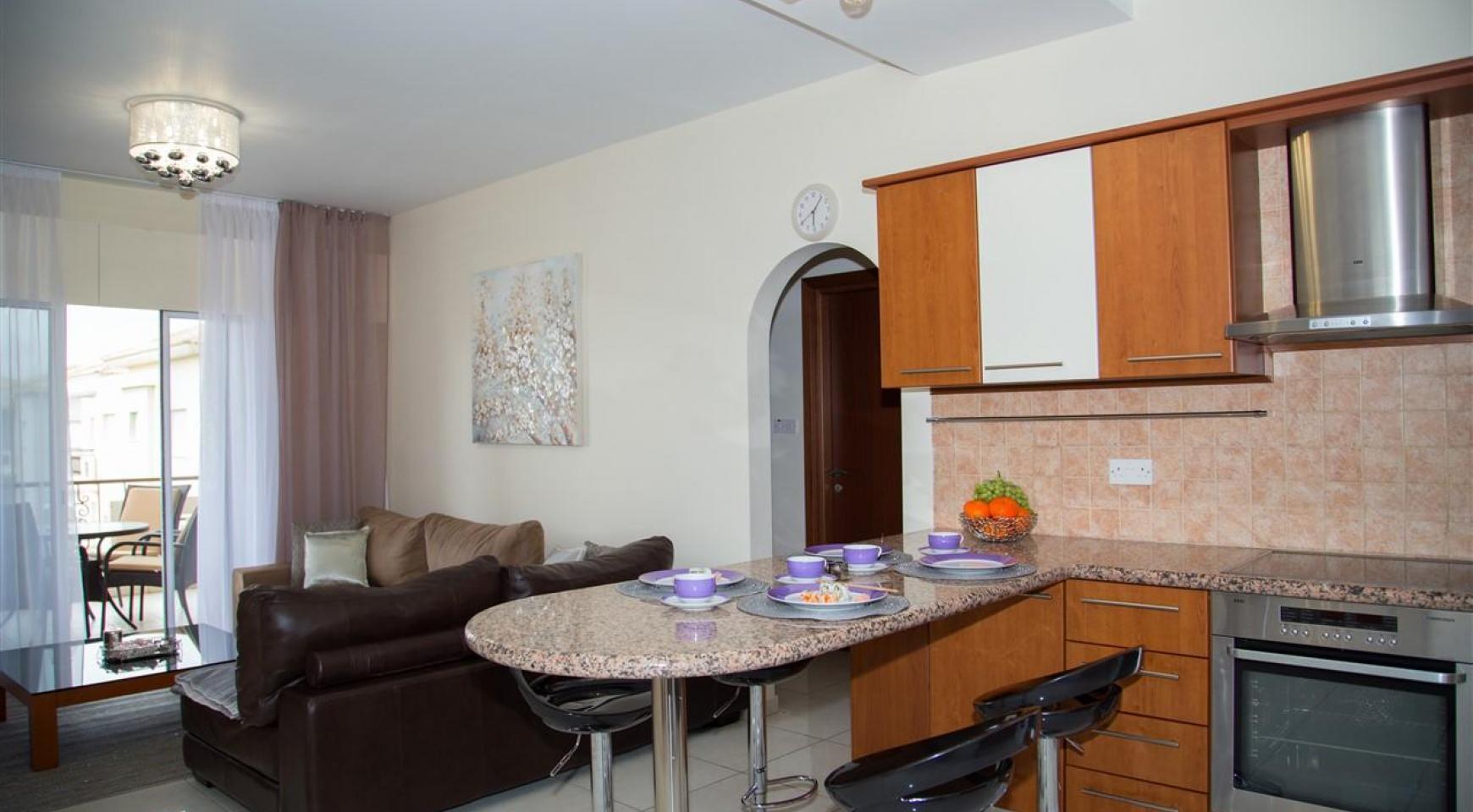 2-Спальная Квартира Mesogios Iris 304 в Комплексе у Моря - 3