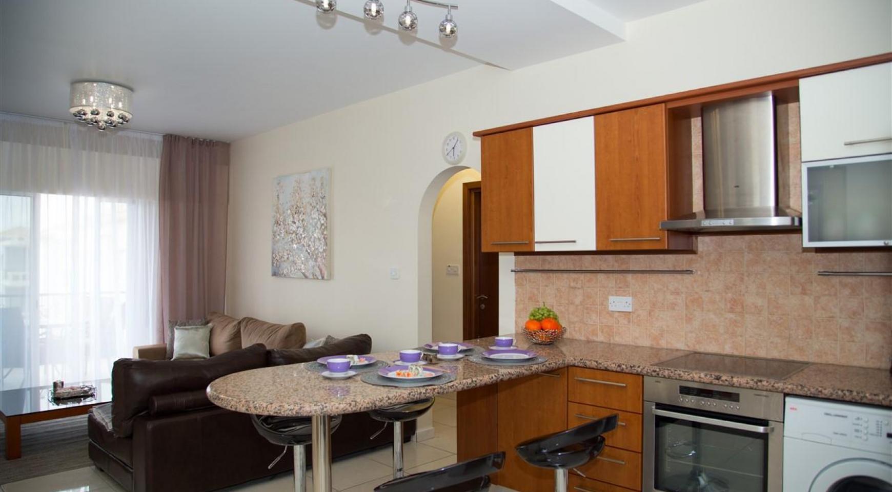2-Спальная Квартира Mesogios Iris 304 в Комплексе у Моря - 8