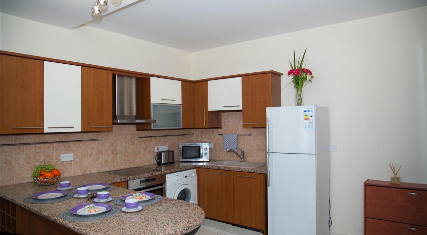 2-Спальная Квартира Mesogios Iris 304 в Комплексе у Моря - 11