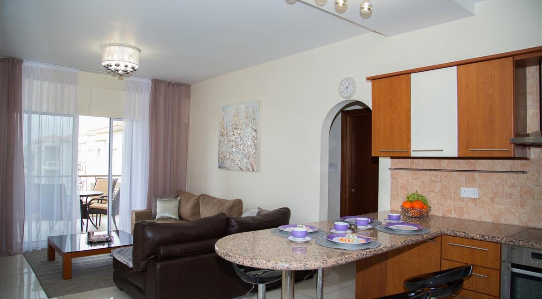 2-Спальная Квартира Mesogios Iris 304 в Комплексе у Моря - 1