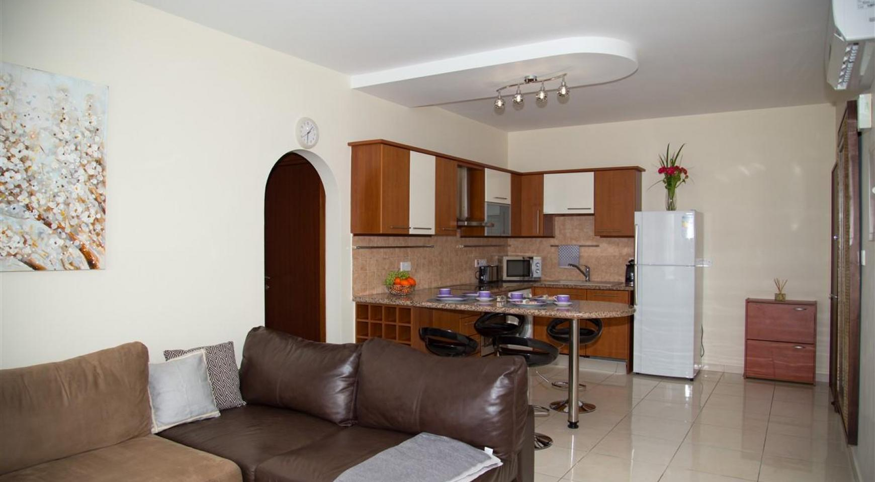 2-Спальная Квартира Mesogios Iris 304 в Комплексе у Моря - 7