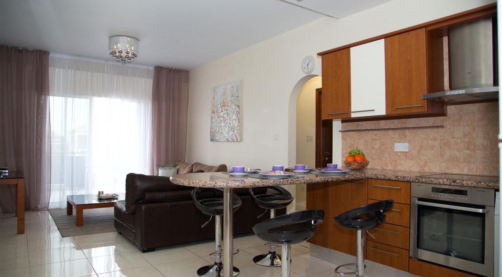 2-Спальная Квартира Mesogios Iris 304 в Комплексе у Моря - 9