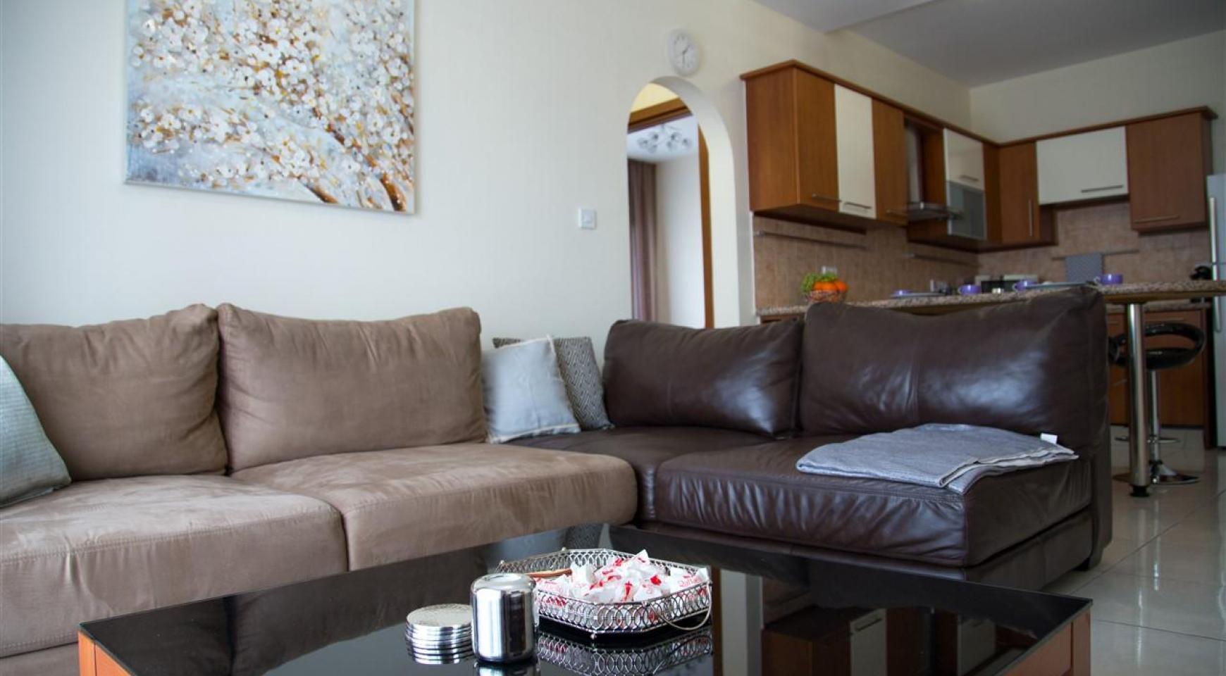 2-Спальная Квартира Mesogios Iris 304 в Комплексе у Моря - 12