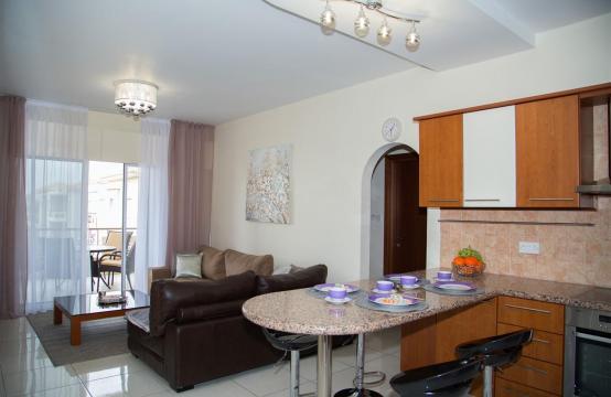 2-Спальная Квартира Mesogios Iris 304 в Комплексе у Моря