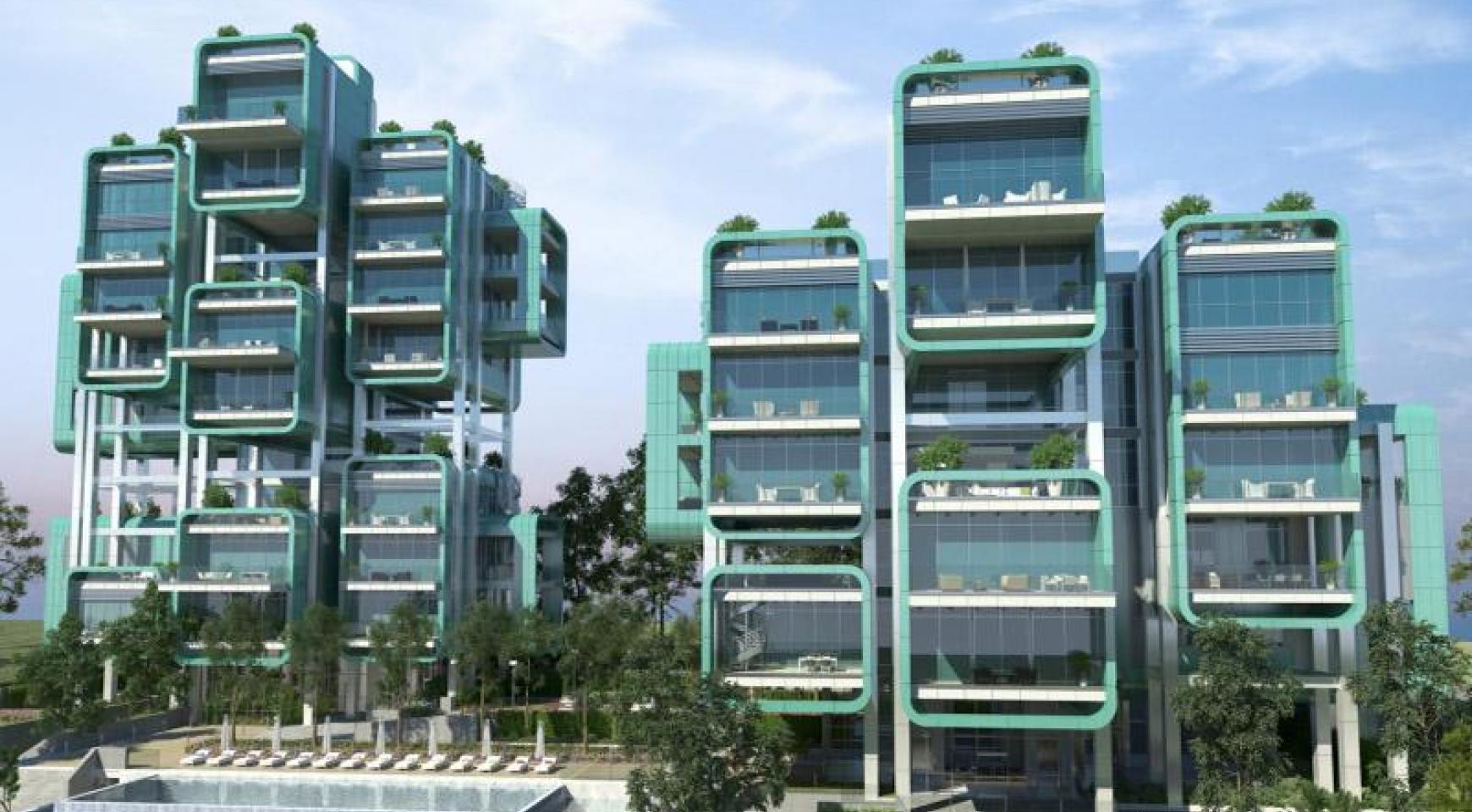 Элитная 3-Спальная Квартира в Новом Комплексе возле Моря - 29