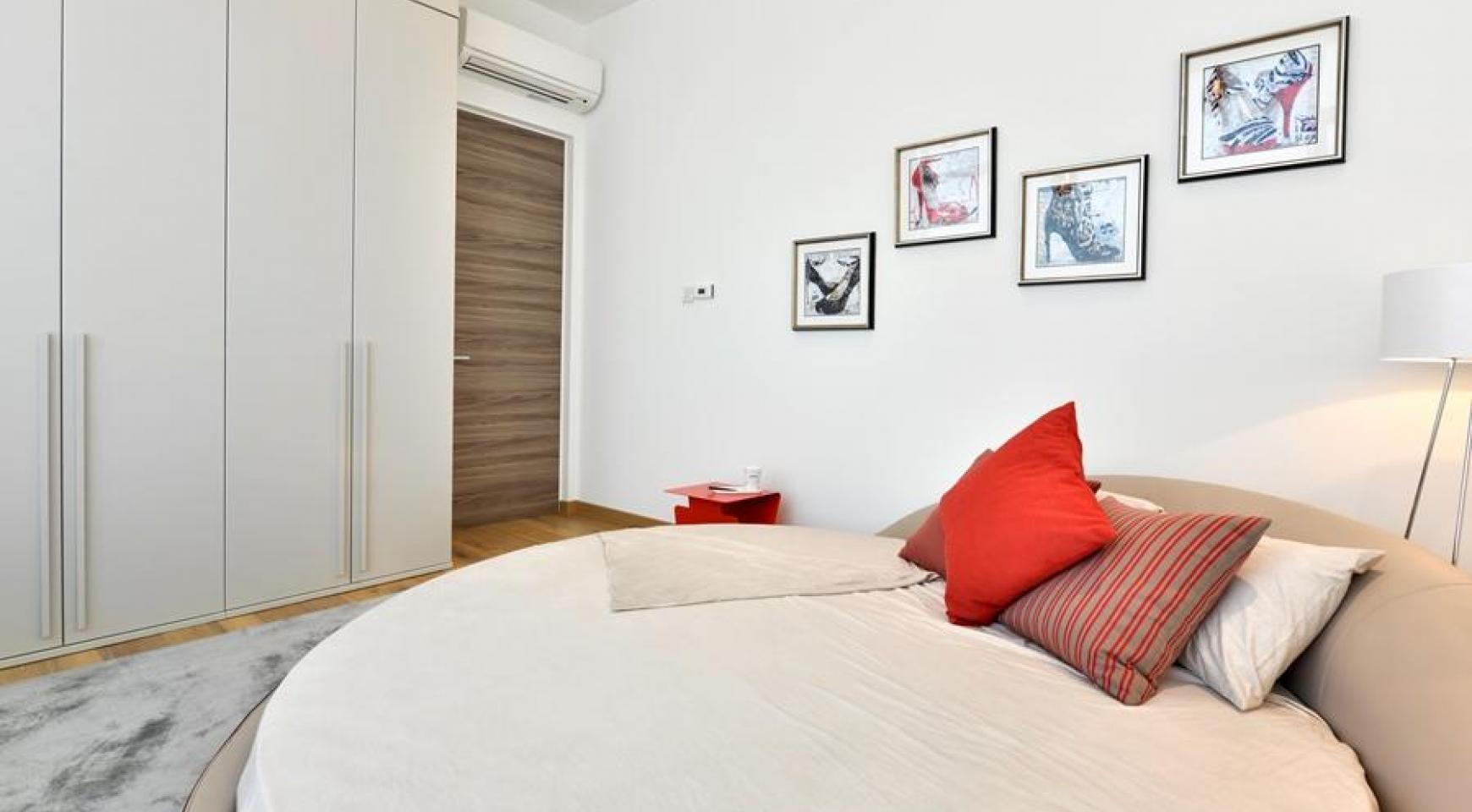 Элитная 3-Спальная Квартира в Новом Комплексе возле Моря - 21
