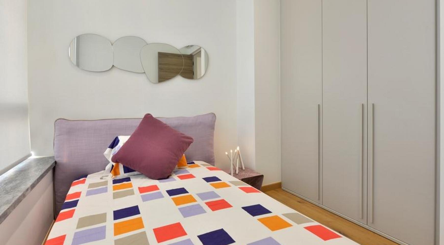 Элитная 3-Спальная Квартира в Новом Комплексе возле Моря - 19