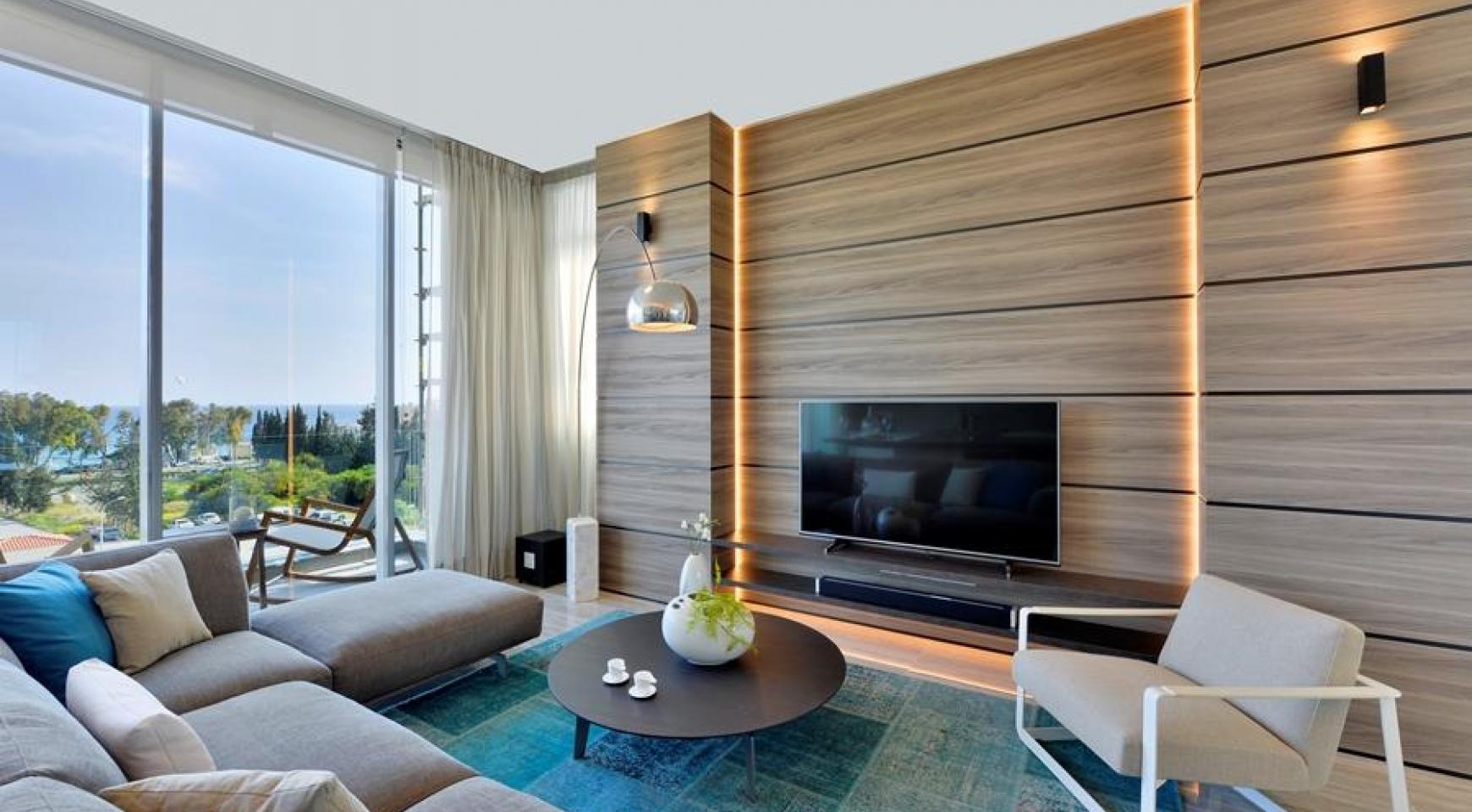 Элитная 3-Спальная Квартира в Новом Комплексе возле Моря - 2