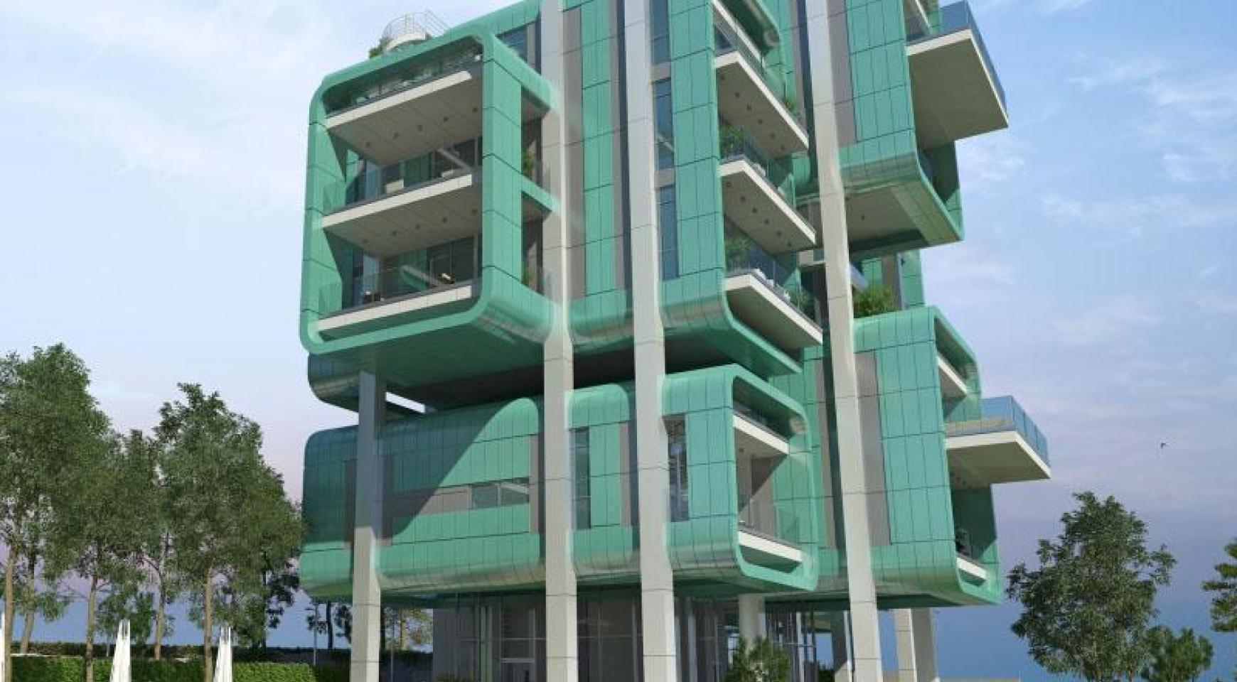 современное здание