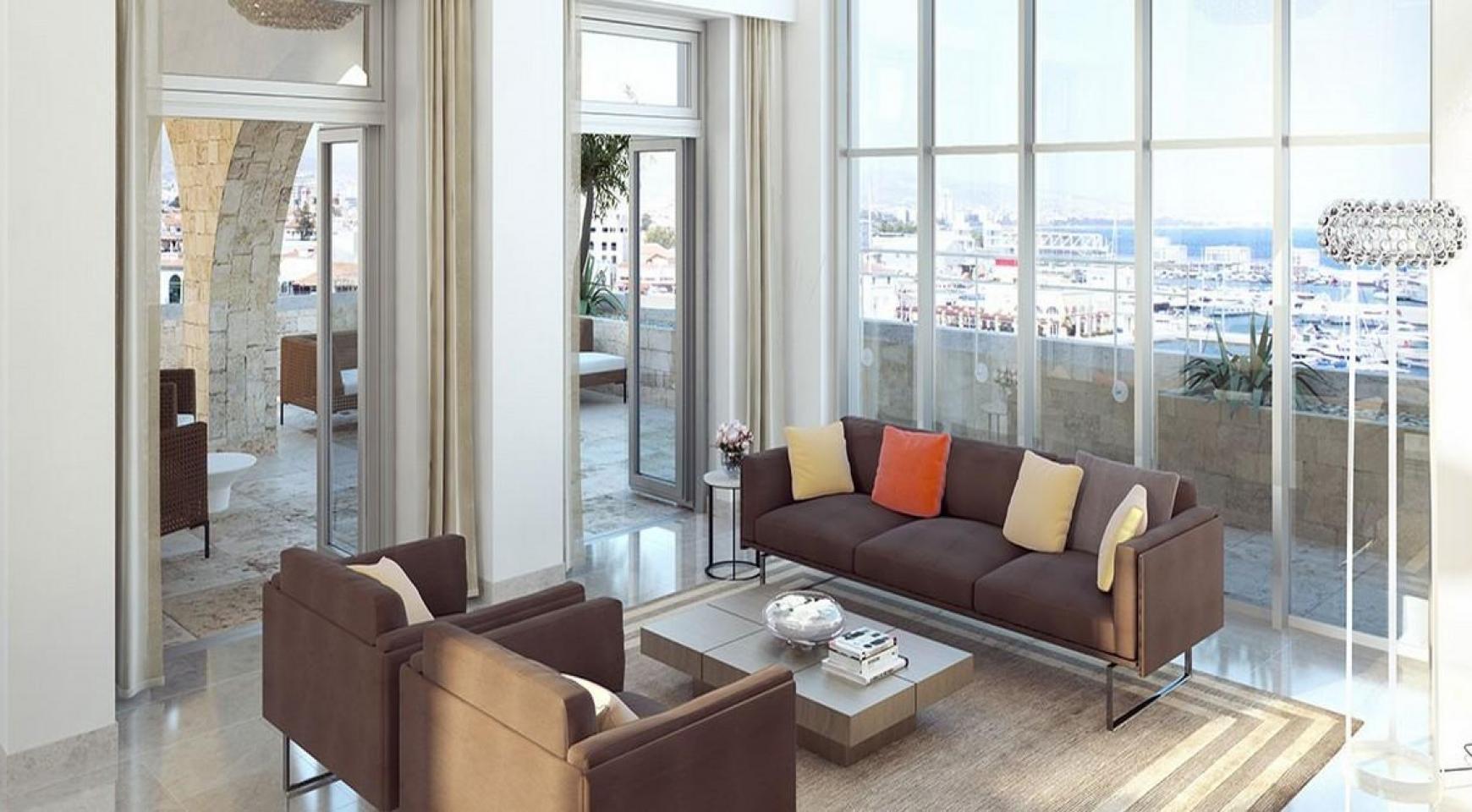 Новая 3-Спальная Квартира в Эксклюзивном Проекте на Море - 4