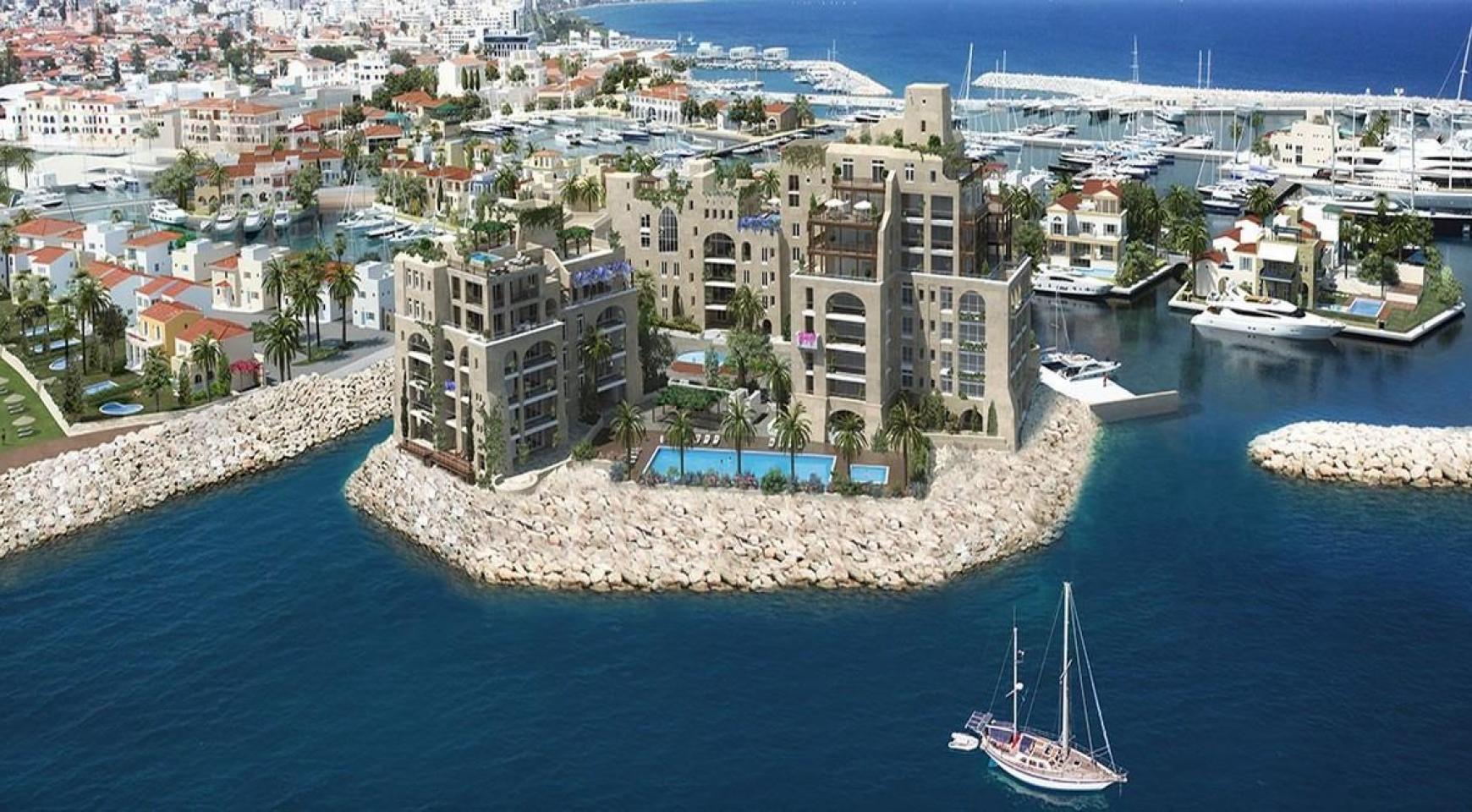 Новая 3-Спальная Квартира в Эксклюзивном Проекте на Море - 2
