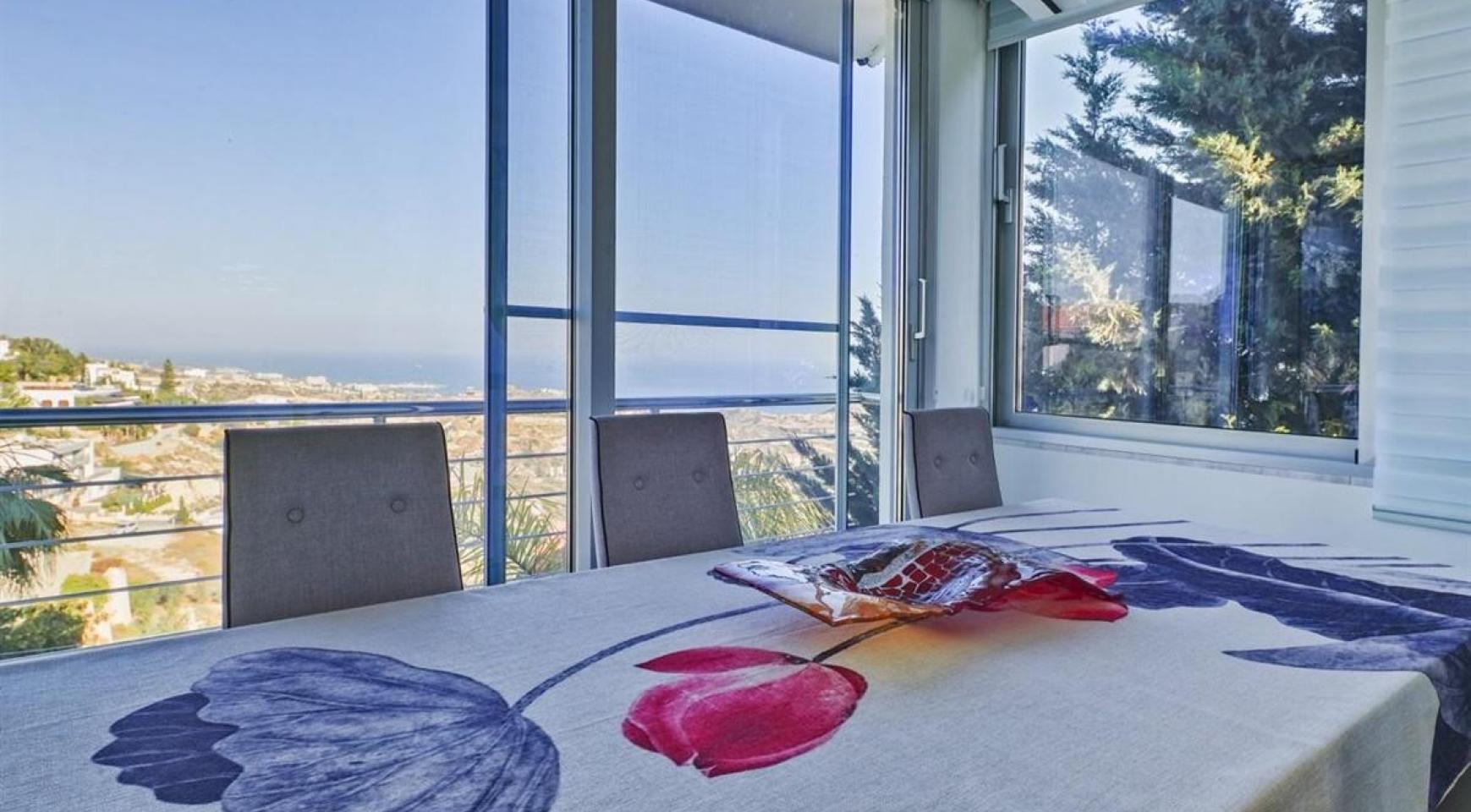 Элитная 5-Спальная Вилла с Изумительными Видами на Море и Горы в Районе Agios Tychonas - 13