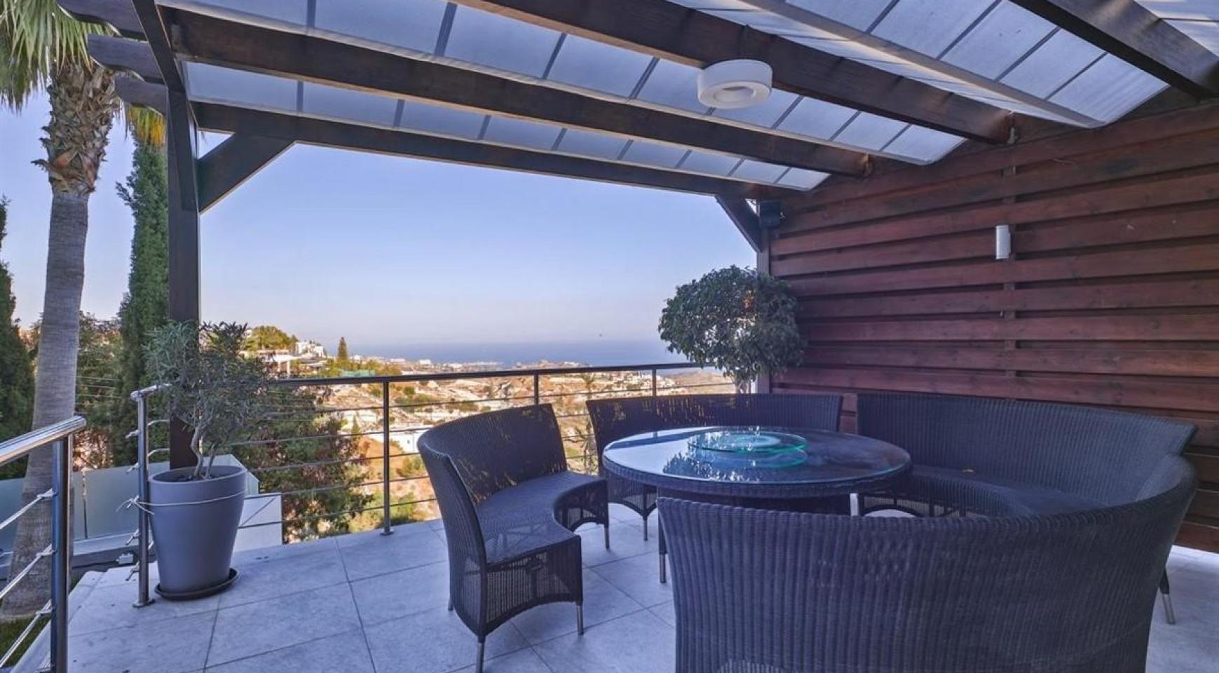 Элитная 5-Спальная Вилла с Изумительными Видами на Море и Горы в Районе Agios Tychonas - 5