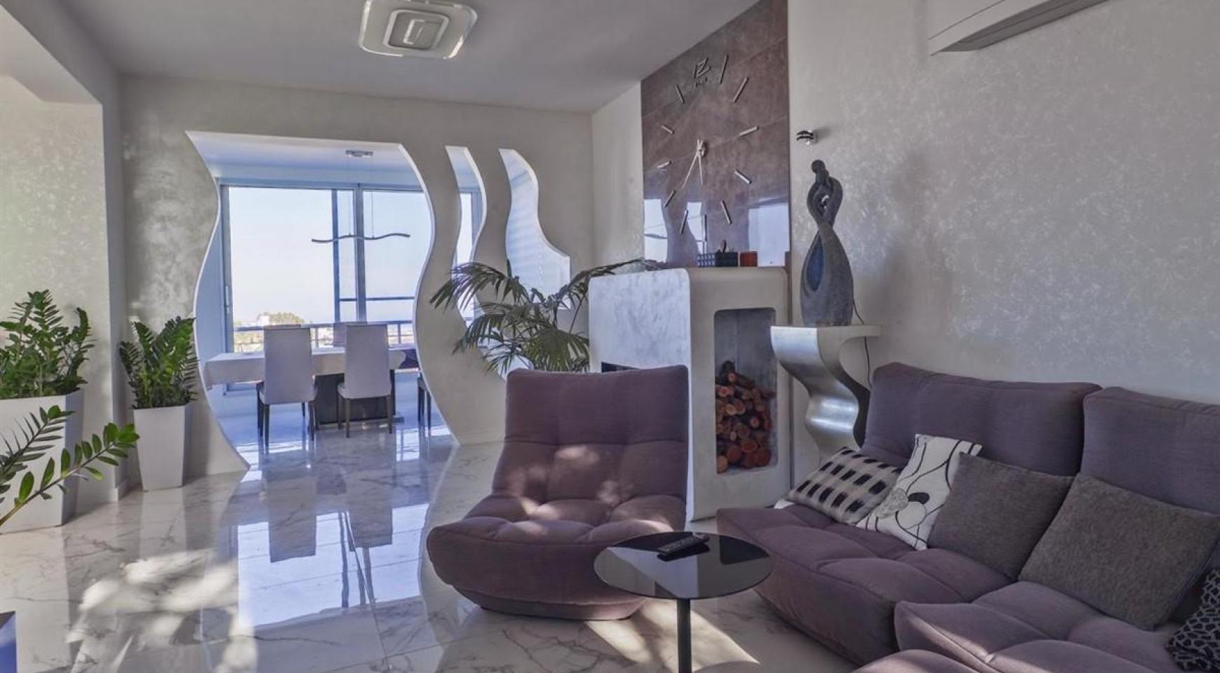 Элитная 5-Спальная Вилла с Изумительными Видами на Море и Горы в Районе Agios Tychonas - 7