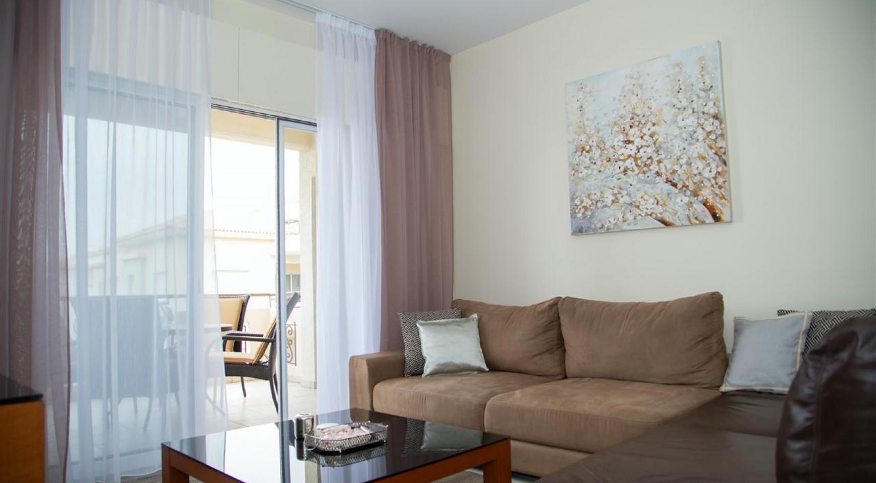 """2-Спальная Квартира - Люкс """"Mesogios Iris 304"""" в Туристической Зоне возле Моря - 3"""