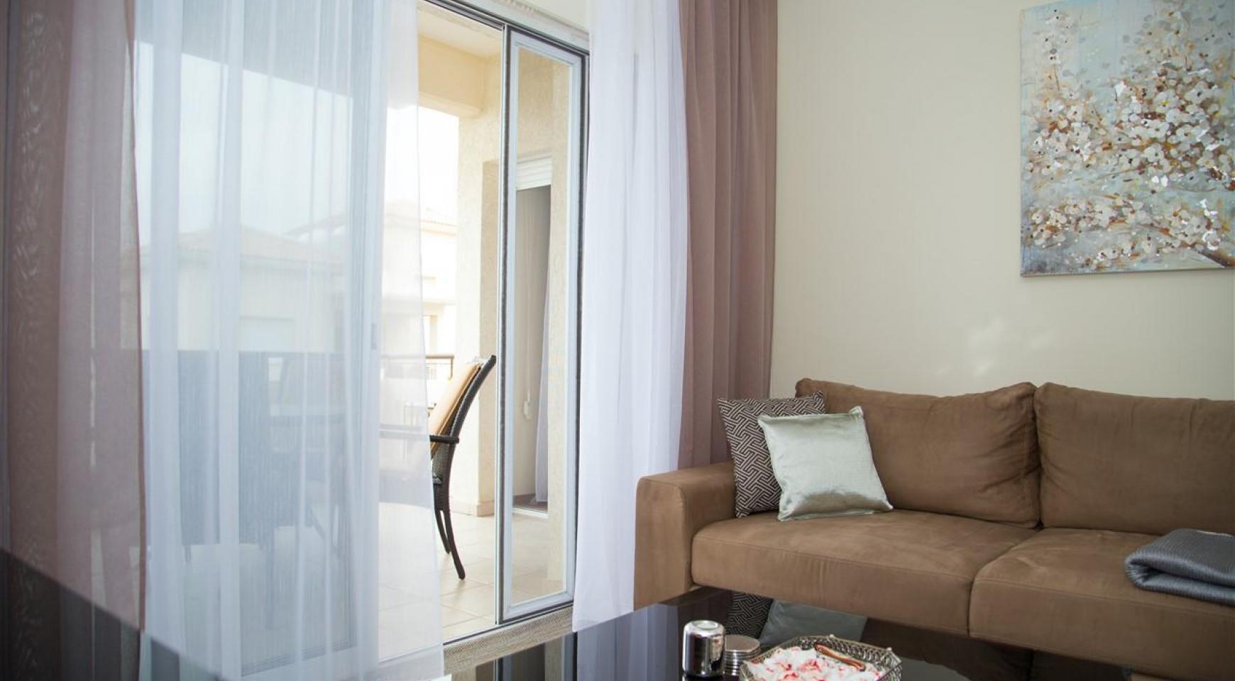 """2-Спальная Квартира - Люкс """"Mesogios Iris 304"""" в Туристической Зоне возле Моря - 4"""