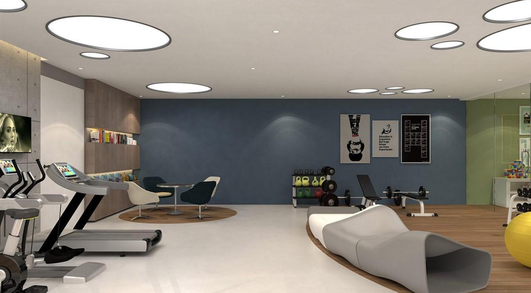 Современная 2-Спальная Квартира в Новом Комплексе возле Моря - 12