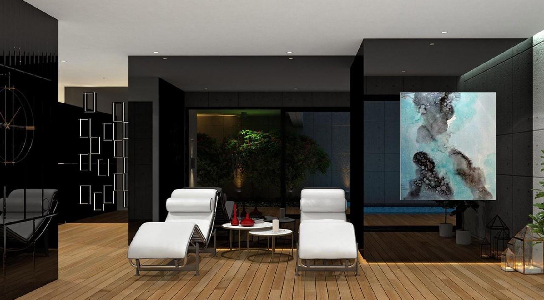 Современная 2-Спальная Квартира в Новом Комплексе возле Моря - 22