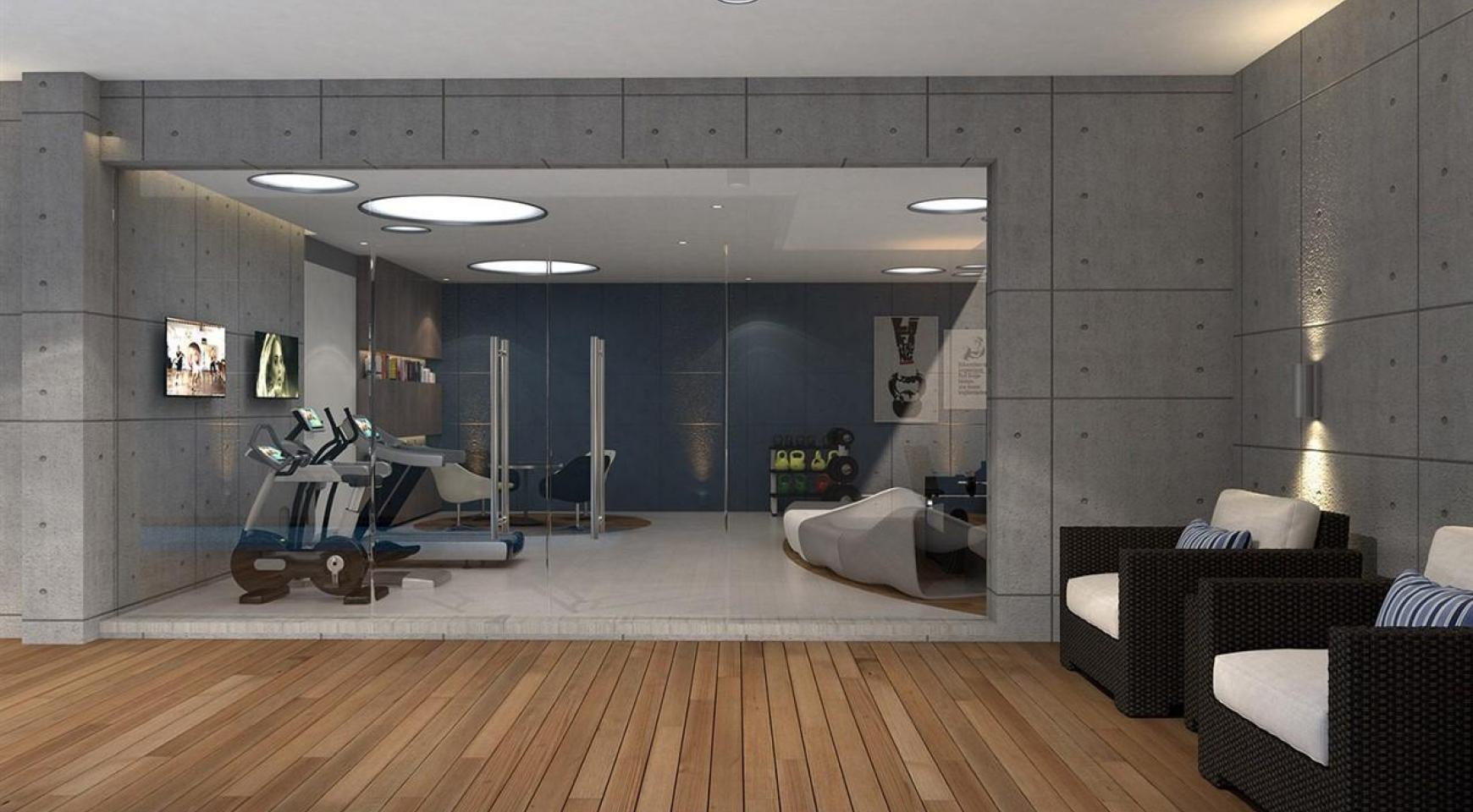 Современная 2-Спальная Квартира в Новом Комплексе возле Моря - 17