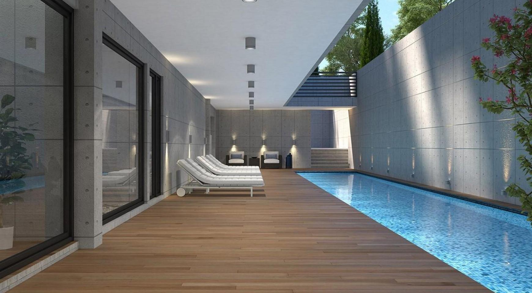 Современная 2-Спальная Квартира в Новом Комплексе возле Моря - 5