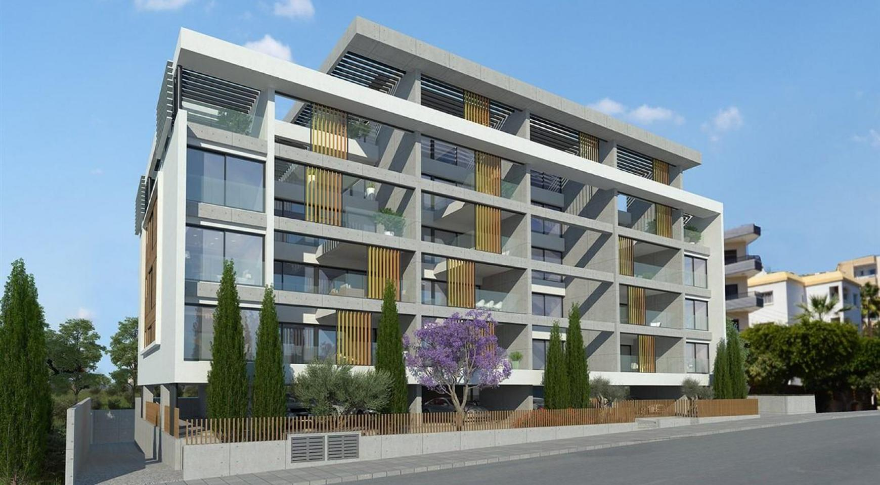 Современная 2-Спальная Квартира в Новом Комплексе возле Моря - 3