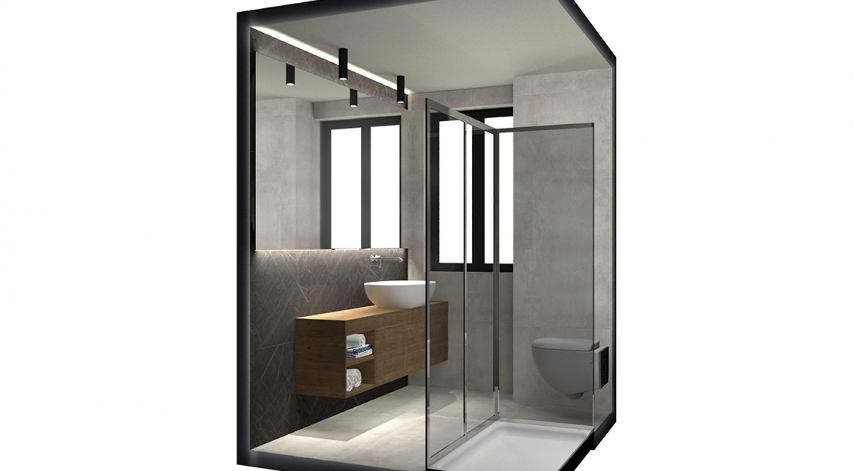 Современная 2-Спальная Квартира в Новом Комплексе возле Моря - 10