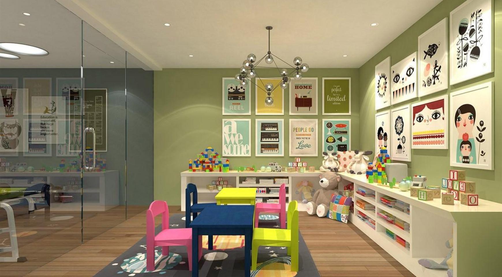 Современная 3-Спальная Квартира в Новом Комплексе возле Моря - 13