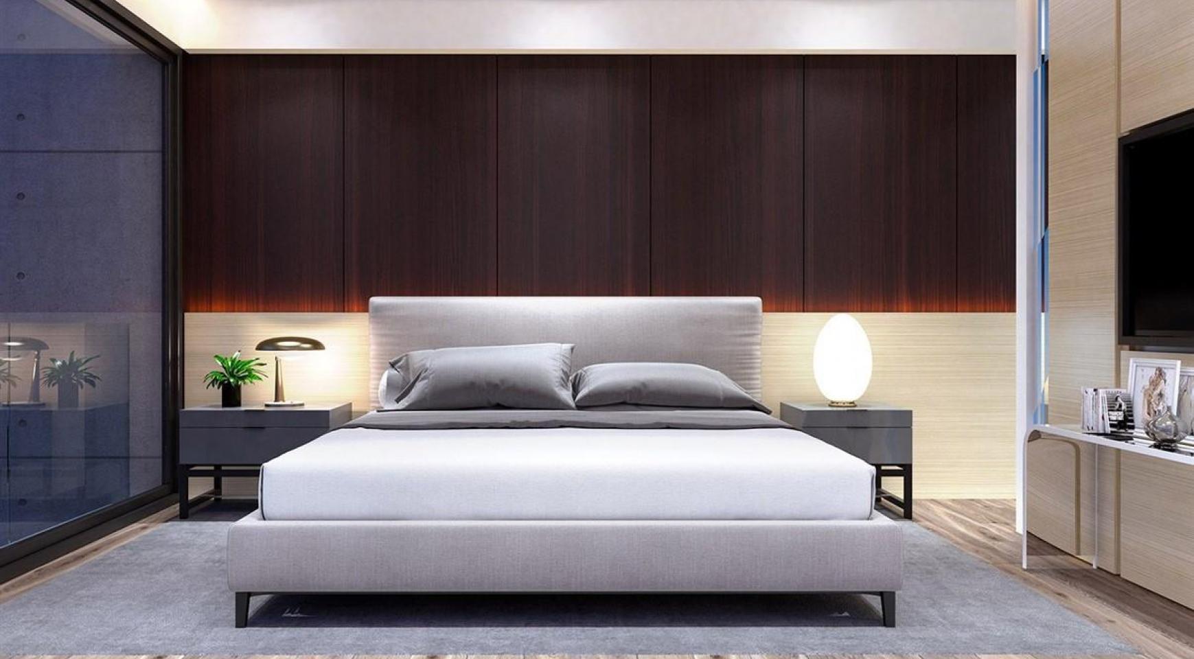 Современный 3-Спальный Пентхаус в новом Комплексе возле Моря - 10