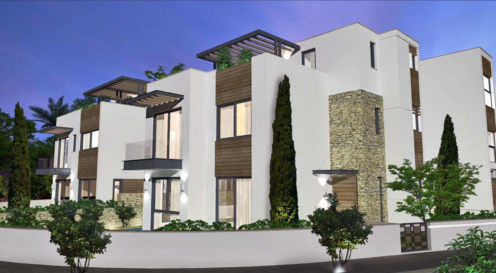 Просторная 4-Спальная Вилла в Новом Комплексе в Районе Agios Athanasios - 7