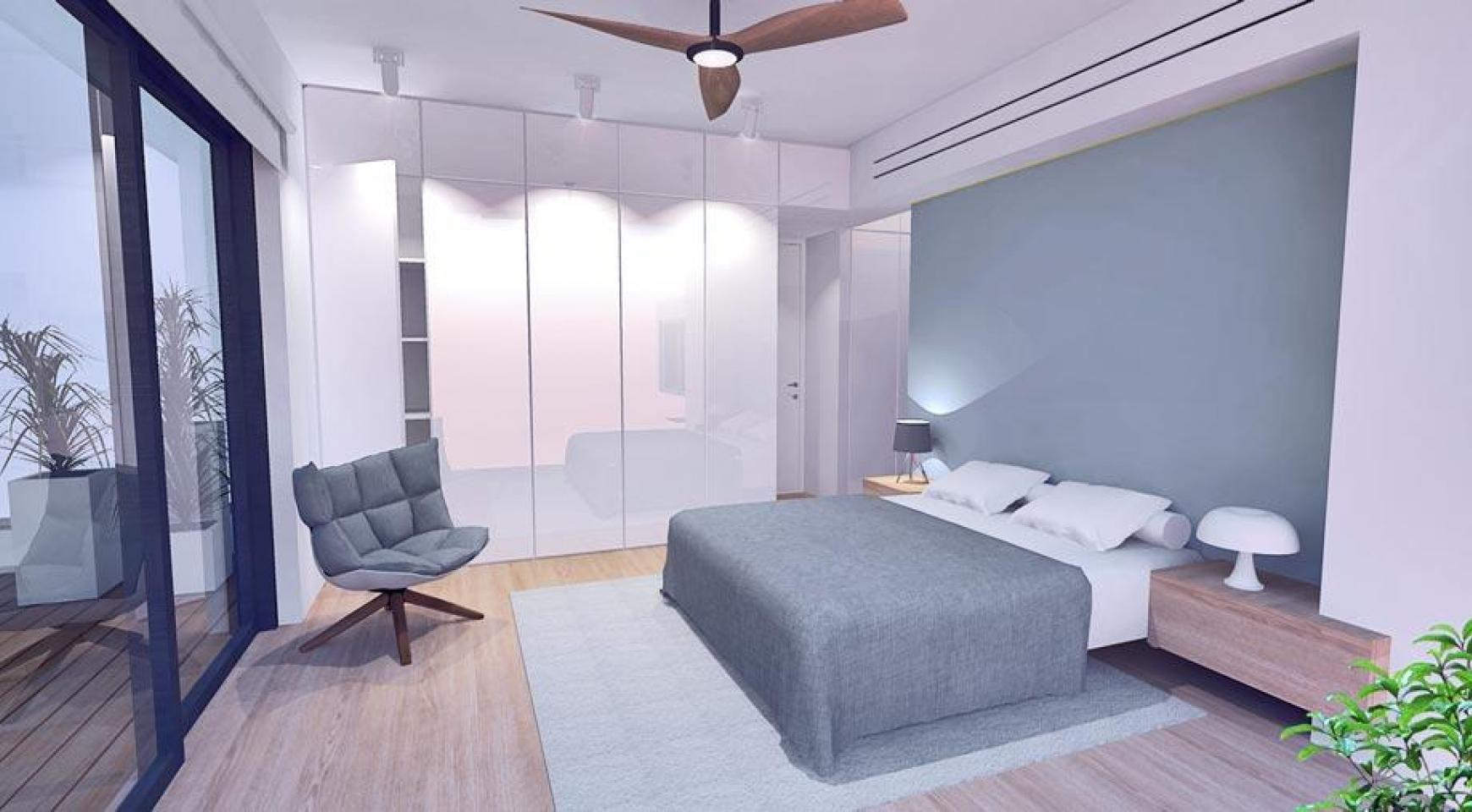 Просторная 4-Спальная Вилла в Новом Комплексе в Районе Agios Athanasios - 9