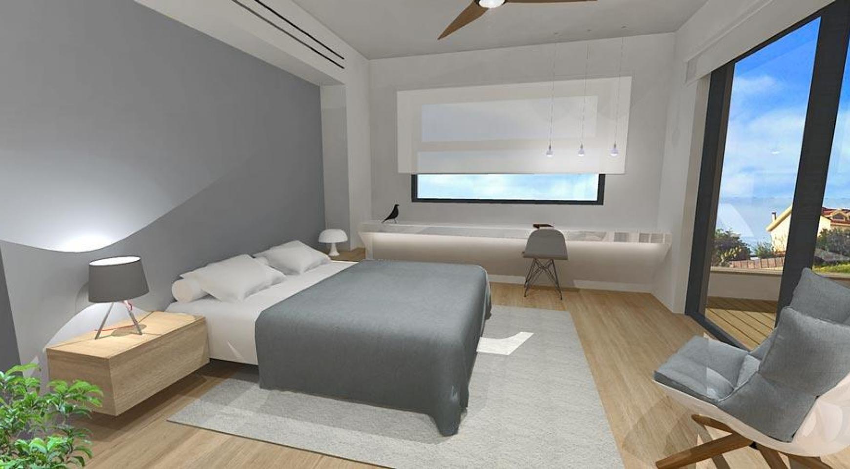 Просторная 4-Спальная Вилла в Новом Комплексе в Районе Agios Athanasios - 10