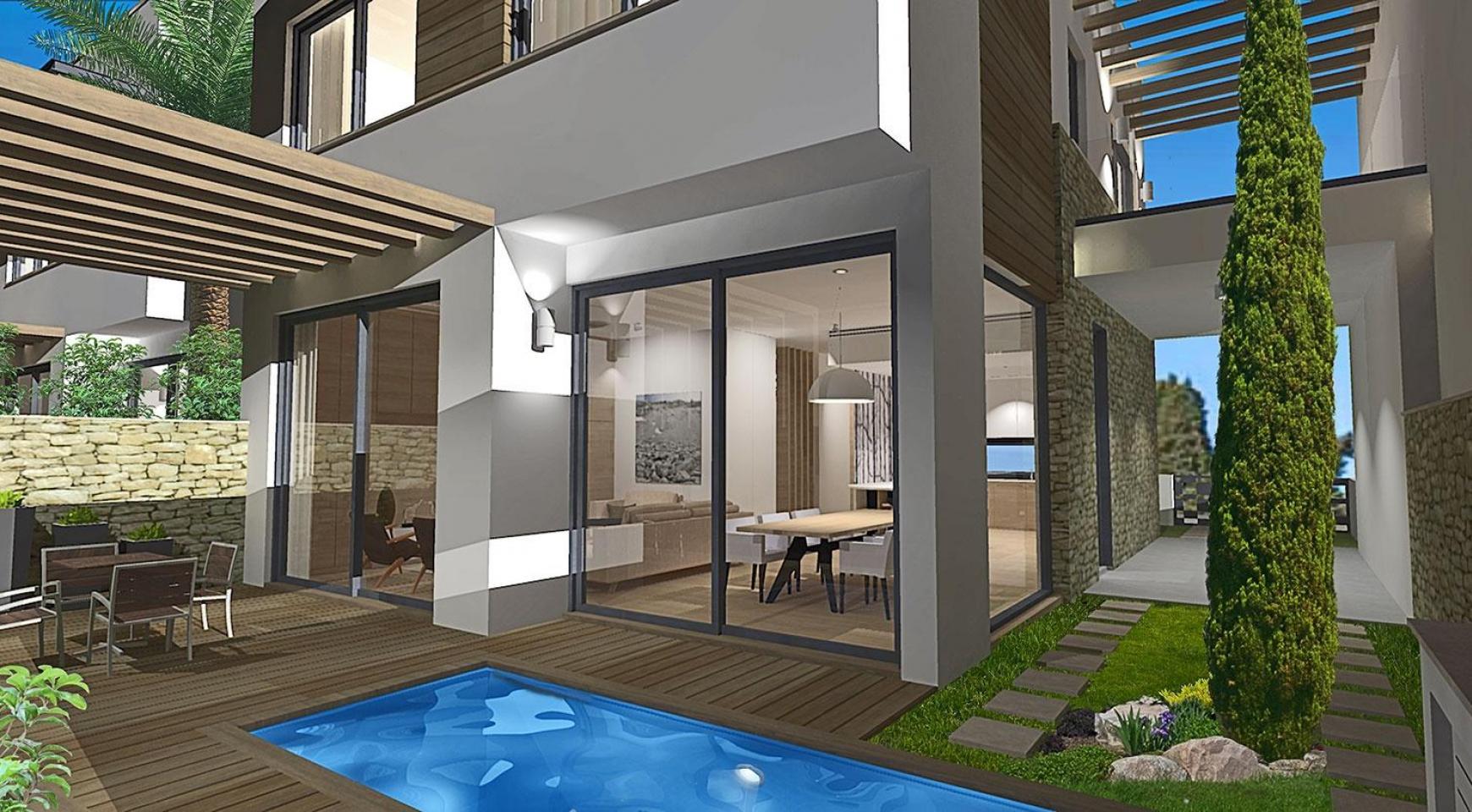 Просторная 4-Спальная Вилла в Новом Комплексе в Районе Agios Athanasios - 5