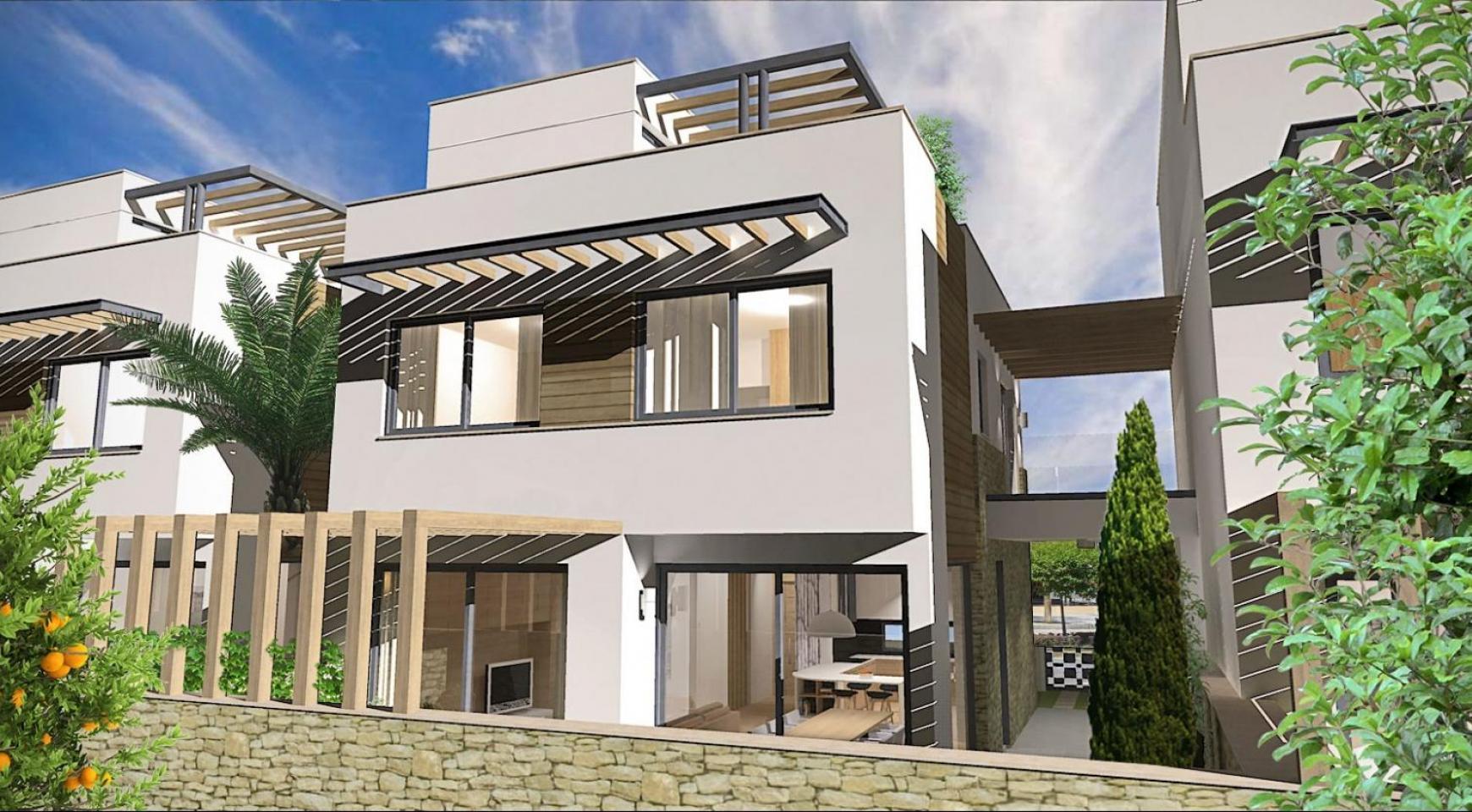 Просторная 4-Спальная Вилла в Новом Комплексе в Районе Agios Athanasios - 3