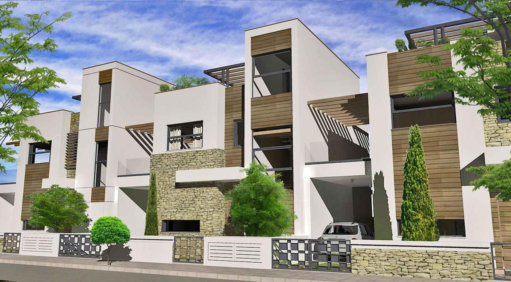 Просторная 4-Спальная Вилла в Новом Комплексе в Районе Agios Athanasios - 4