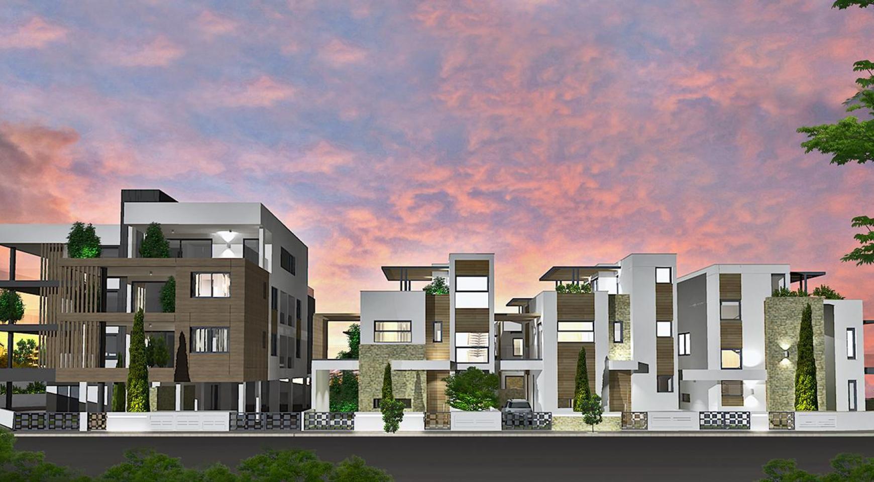 Современная 2-Спальная Квартира в Новом Комплексе в Районе Agios Athanasios - 13