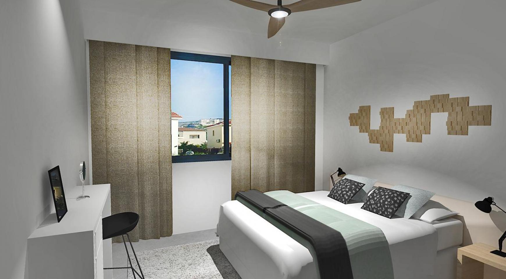 Современная 2-Спальная Квартира в Новом Комплексе в Районе Agios Athanasios - 7