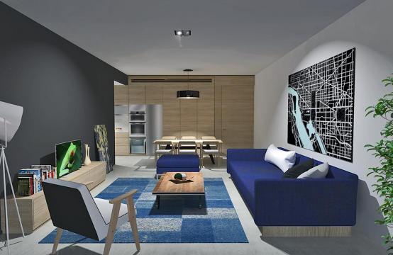 Современная 2-Спальная Квартира в Новом Комплексе в Районе Agios Athanasios