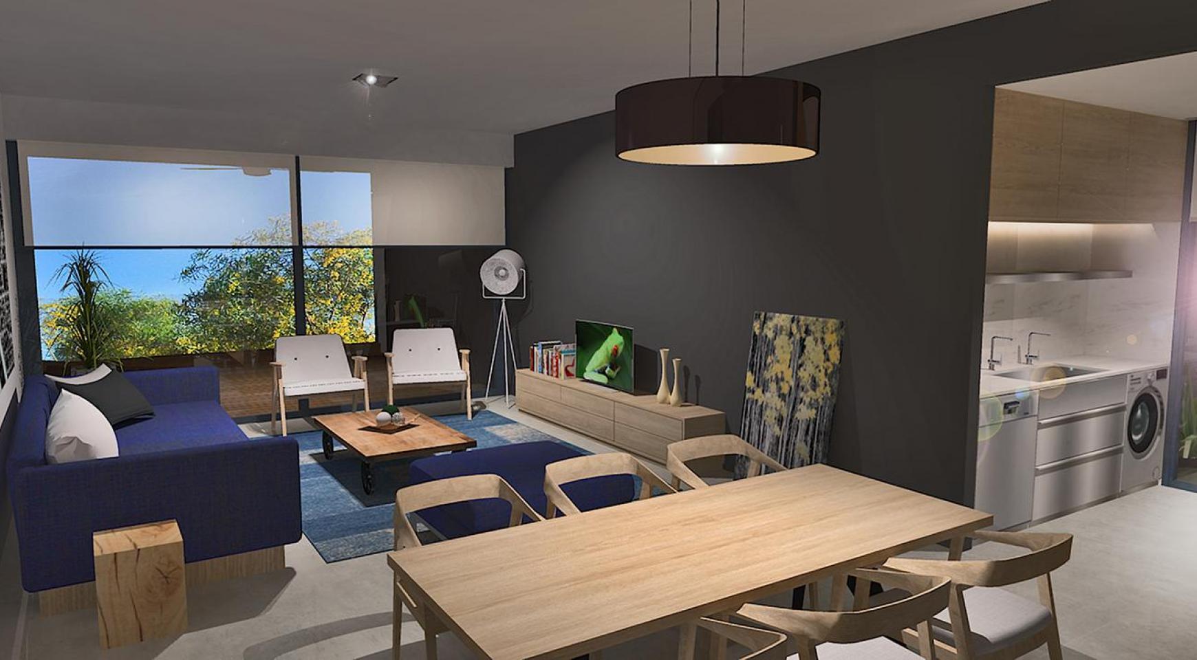 Современная 2-Спальная Квартира в Новом Комплексе в Районе Agios Athanasios - 4