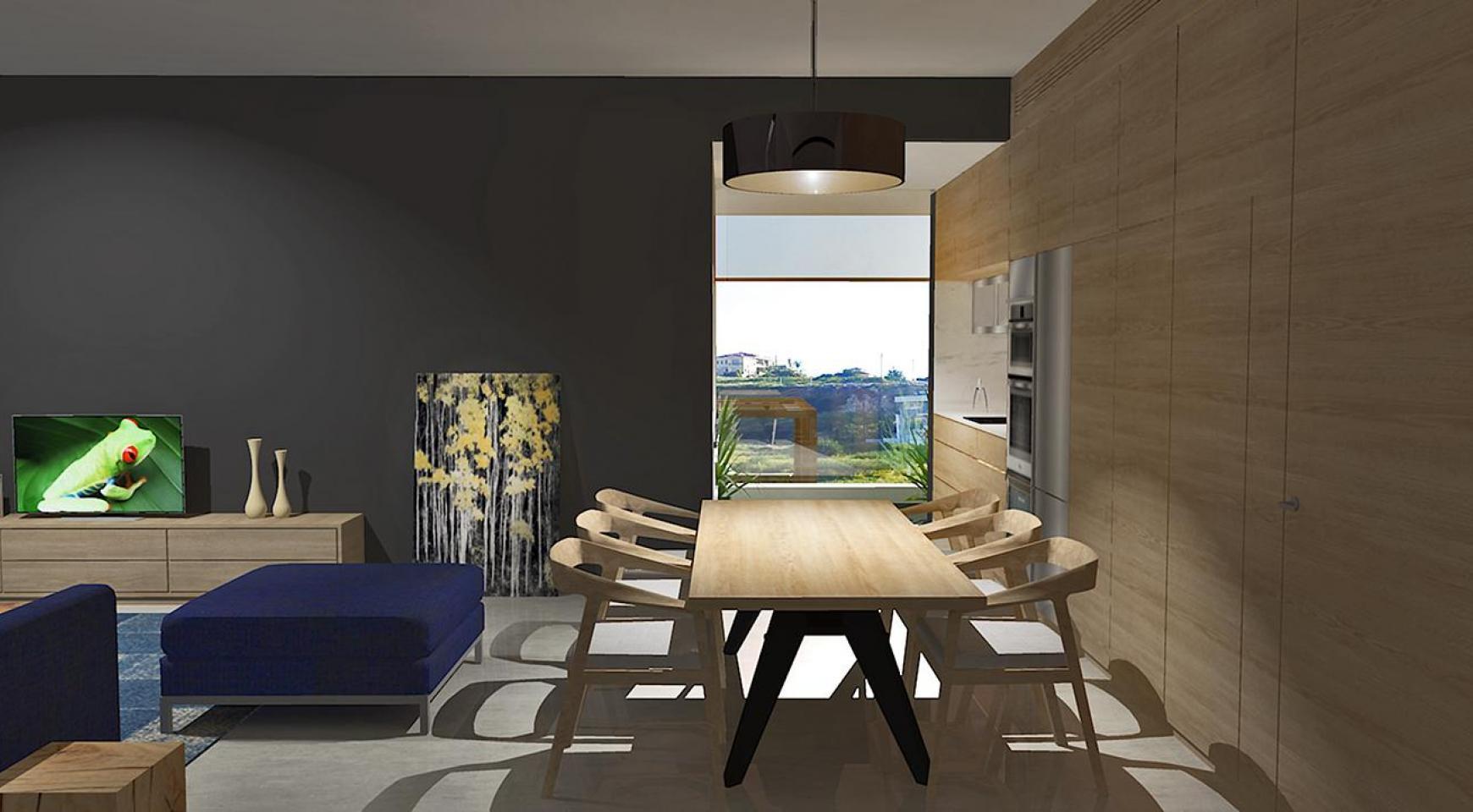 Современная 2-Спальная Квартира в Новом Комплексе в Районе Agios Athanasios - 6