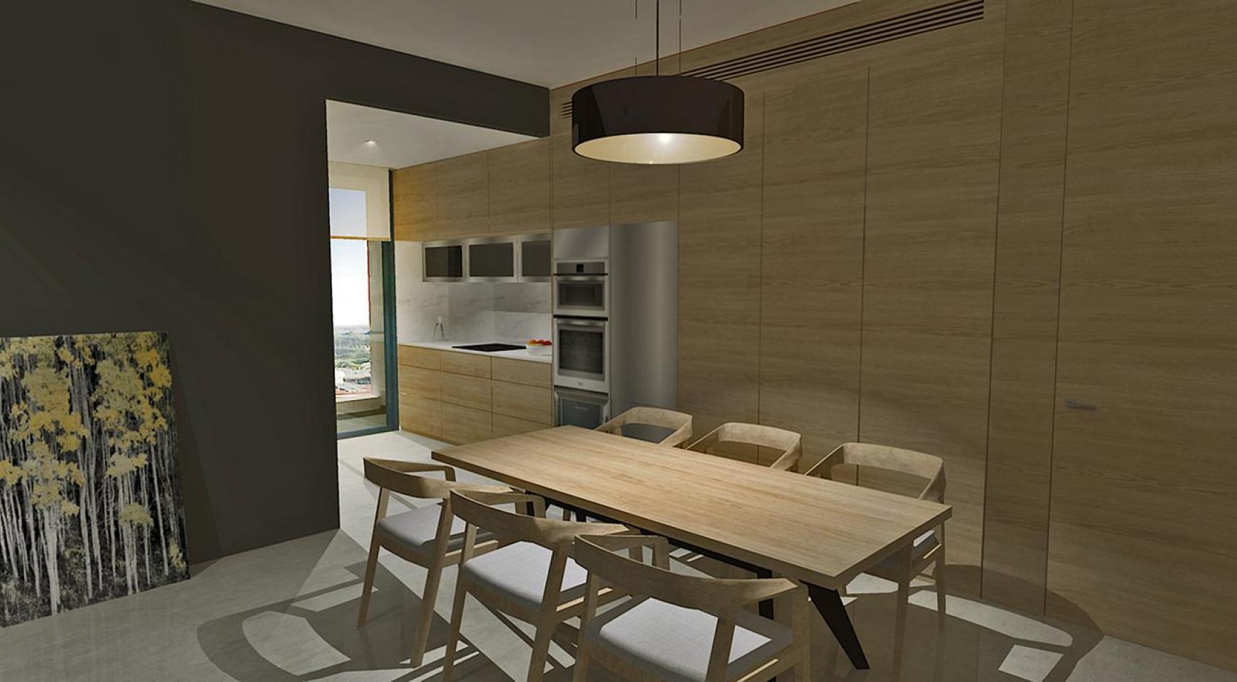 Современная 2-Спальная Квартира в Новом Комплексе в Районе Agios Athanasios - 5