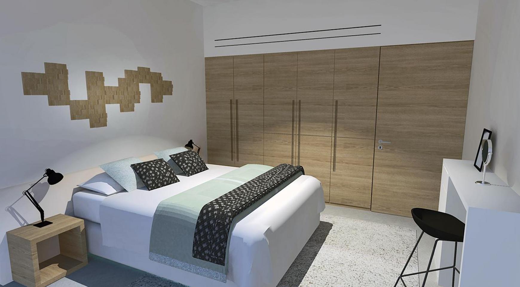 Современная 2-Спальная Квартира в Новом Комплексе в Районе Agios Athanasios - 8