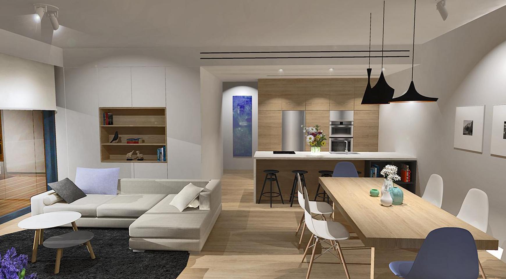 Современная 3-Спальная Квартира в Новом Комплексе в Районе Agios Athanasios - 5