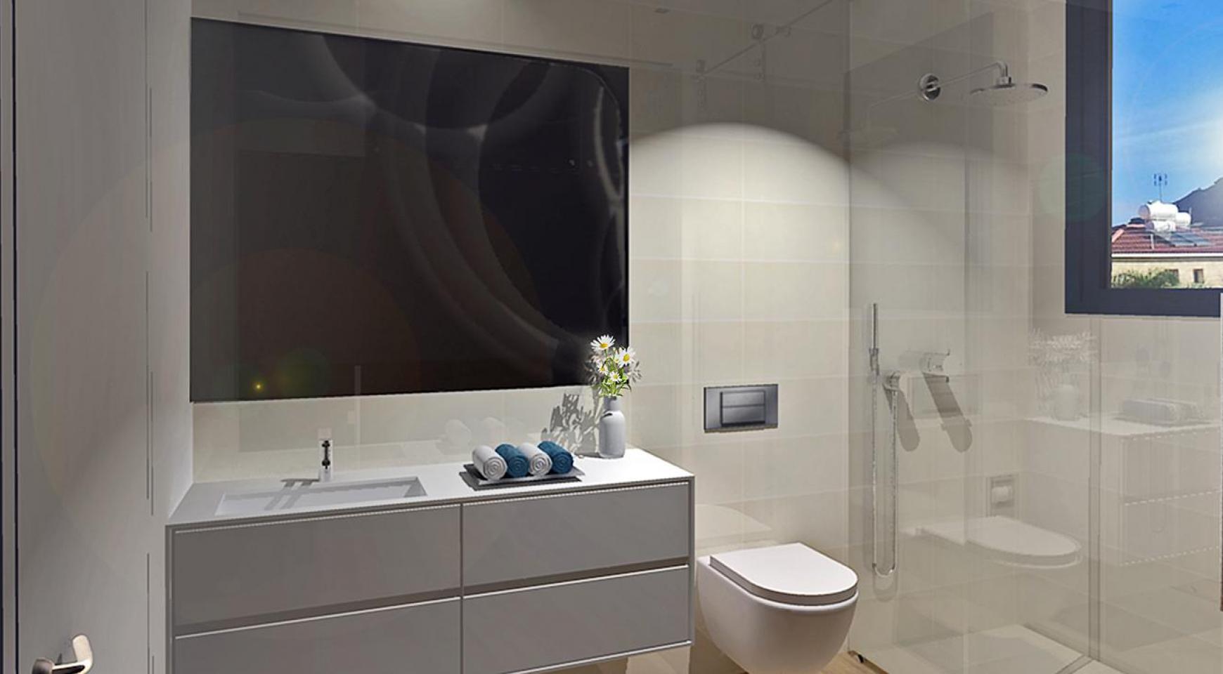 Современная 3-Спальная Квартира в Новом Комплексе в Районе Agios Athanasios - 13
