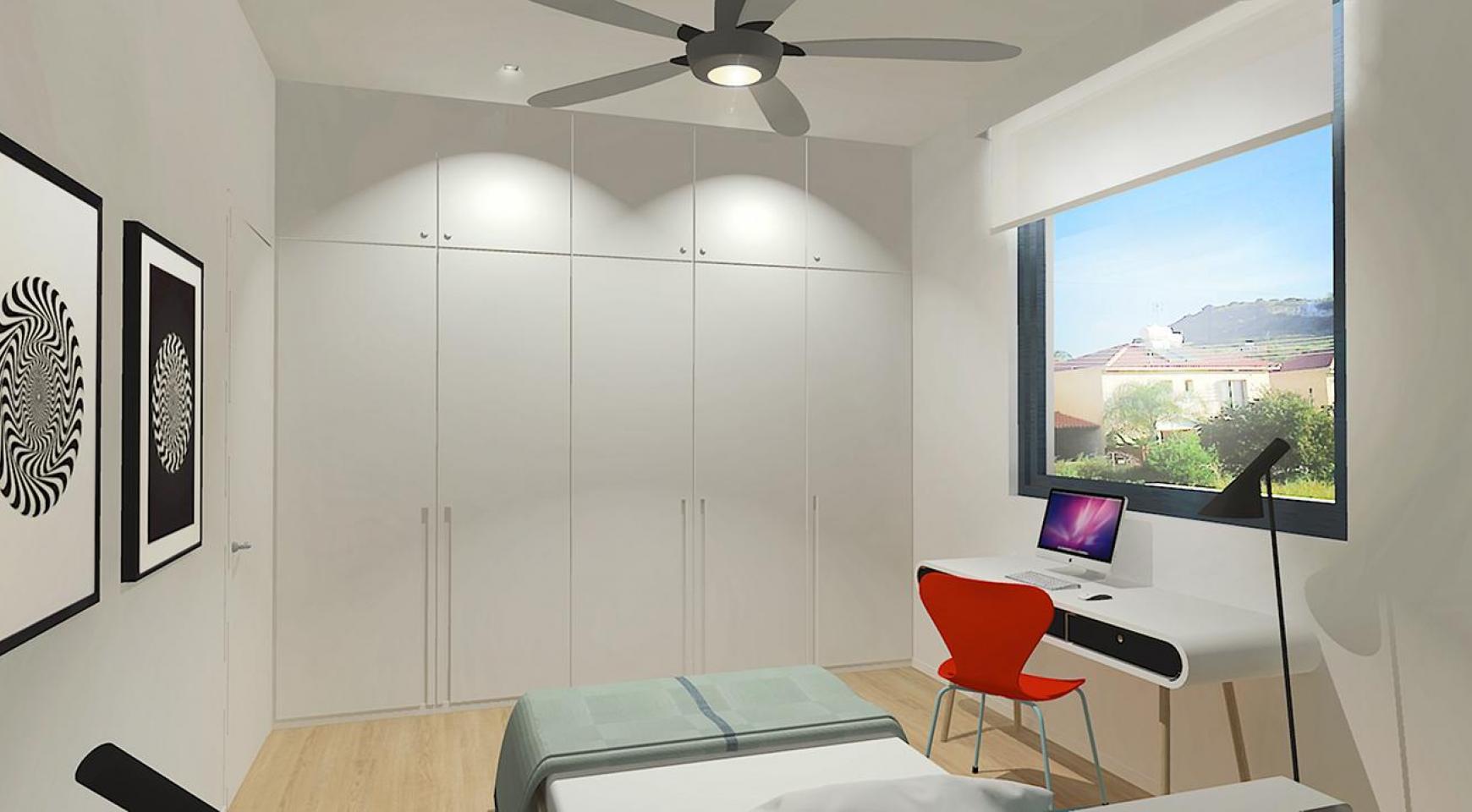Современная 3-Спальная Квартира в Новом Комплексе в Районе Agios Athanasios - 10