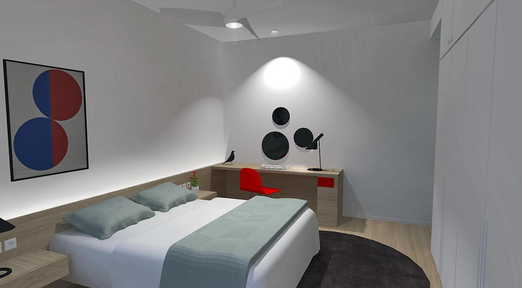 Современная 3-Спальная Квартира в Новом Комплексе в Районе Agios Athanasios - 11