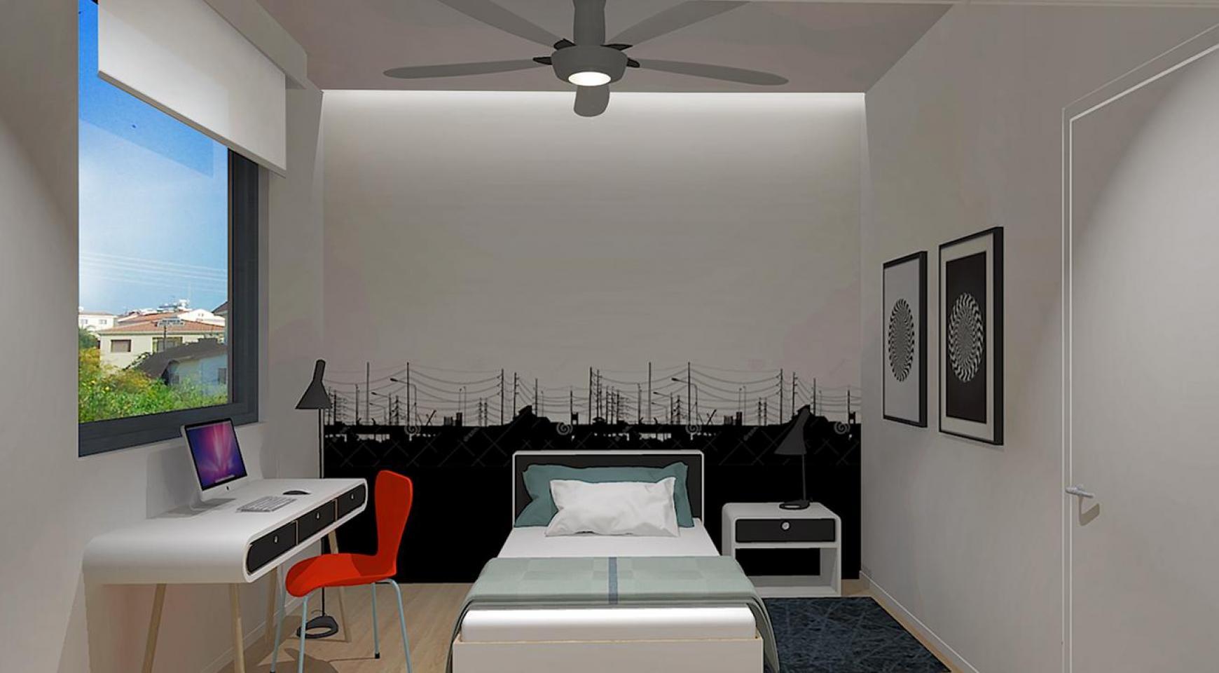 Современная 3-Спальная Квартира в Новом Комплексе в Районе Agios Athanasios - 8